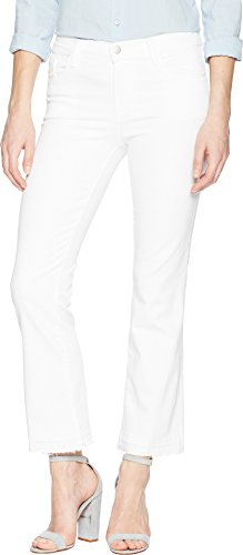 J Brand Jeans Women's Selena Mid-Rise Cropped Bootcut Jean, Blanc, 26 from J Brand Jeans