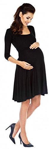 Zeta Ville Premamá - Vestido con vuelo - para mujer 314c negro