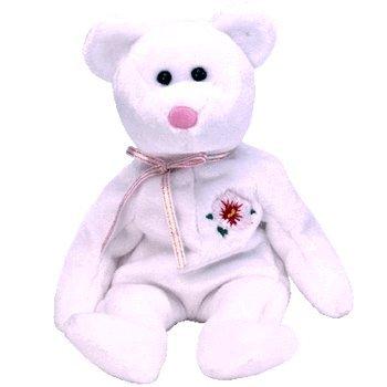 1 X TY Beanie Baby - MUGUNGWHA the Bear (Korean Exclusive)