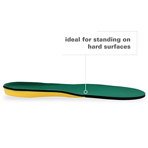 Spenco Polysorb Heavy Duty Maximum All Day Comfort and Support Shoe Insole, Women's 11-12.5/Men's 10-11.5 by Spenco (Image #4)