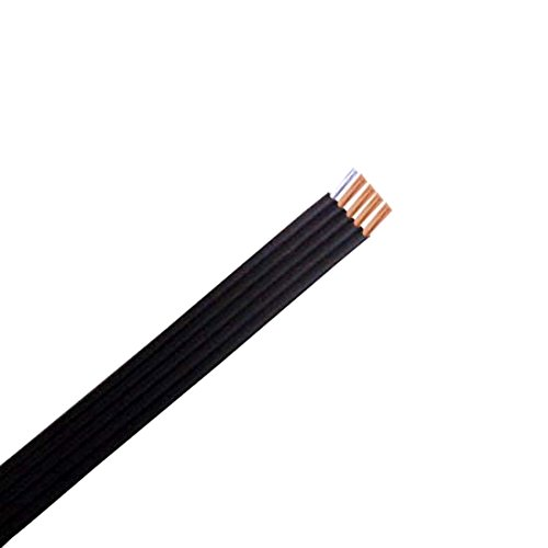 (Rotator Cable 75' FT 5 Wire Rotor Cable Automatic Directional Outdoor Off-Air TV Antenna Connection)