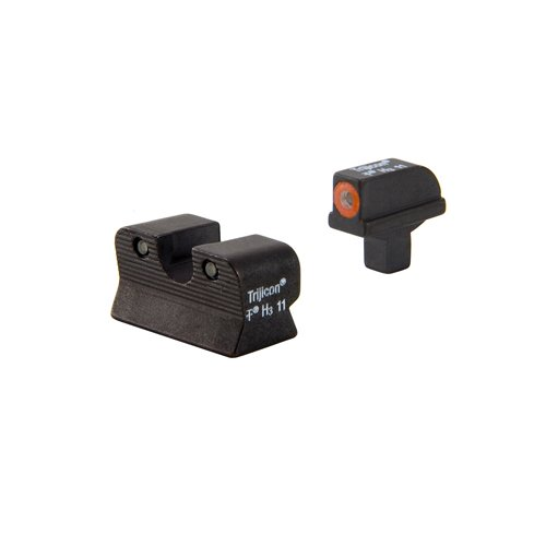 Trijicon HD Front Outline Night Sight Set for Colt 1911 Cut, Orange