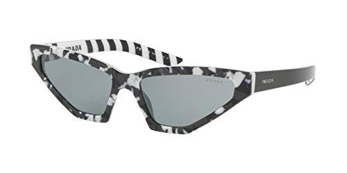 Prada 0PR 12VS Gafas de sol, Camuflage Black, 57 para Mujer ...