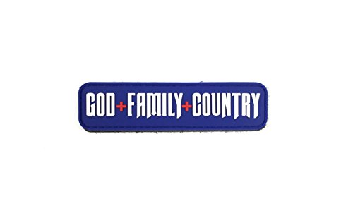 Patriot Patch Co - God + Family + Country Patch