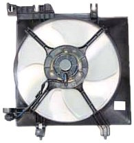 TYC 601070 Subaru Legacy Outback Replacement Radiator Cooling Fan Assembly