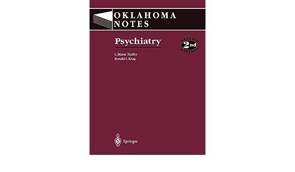 Psychiatry (Oklahoma Notes)