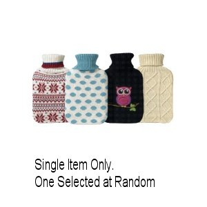 A.Mistry Ltd Knitted Covered Hot Water Bottle 867 Assorted by Mistry & Co