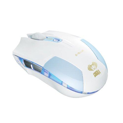 FOME E-3lue Cobra Q Mini Version 1600 DPI Wired USB Optical Gaming Game Mouse Mice blue Color+FOME Gift