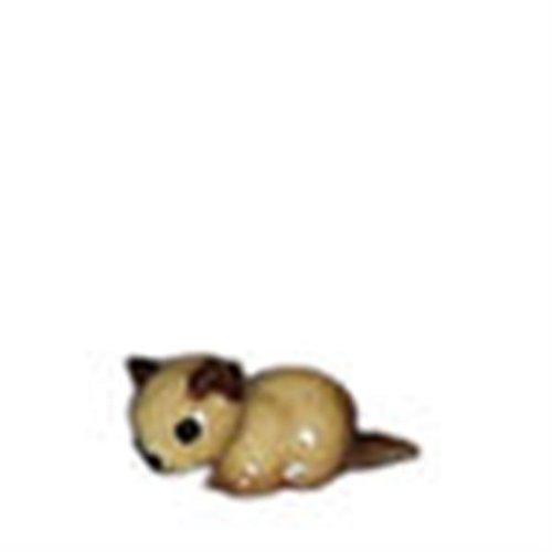SIAMESE Kitten CAT lays Ceramic Super MINIATURE Figurine HAGEN RENAKER 369