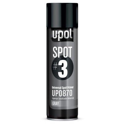 U-POL 0870 Spot#3 Universal Spot Primer, Gray, 450 ml Aerosol