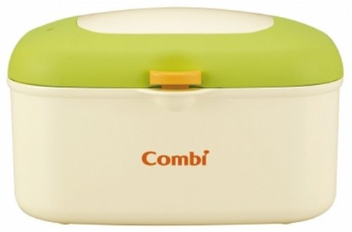 コンビ Combi おしり拭きあたため器 クイックウォーマー HU フレッシュ グリーン 上から温めるトップウォーマーシステム
