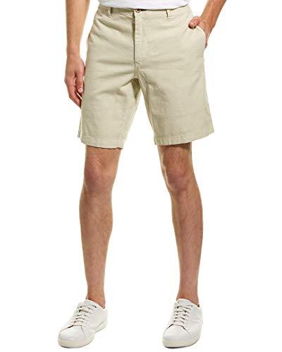 - Tailor Vintage Mens Slim Stretch Linen-Blend Walking Short, 36, Brown