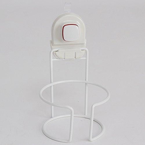 OLQMY-Hair Dryer, Hair Dryer Rack, Toilet Suction Drum Type Hanging Air Blower Rack