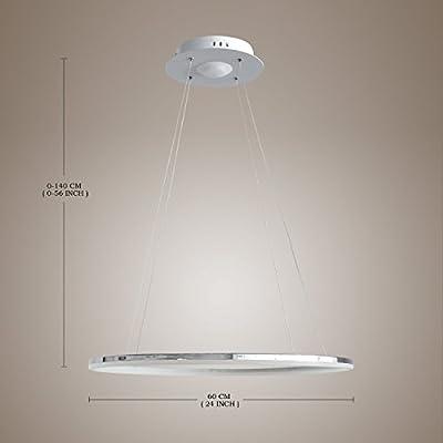 Y&L®Modern Flush Pendant LED Ring Ceiling Light Chandelier Fixture Lighting For Living Room Bedroom Dinning Room Votage=110V-220V
