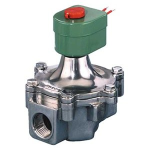 Solenoid Valve, NC, Aluminum, 1-1/2 In from Asco