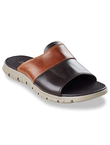 (Cole Haan ZER Grand Slide Sandals Tan/Black)