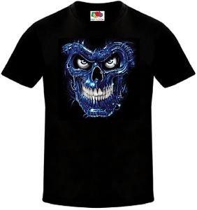 Camiseta Calavera The Terminator Pel?cula Ciencia Ficci?n Todas Las Tallas