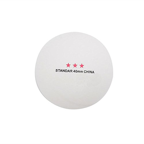 White 50Pcs 3-Star Standard 40mm Olympic Table Tennis Ping Pong Balls Indoor Games new by princessdress08