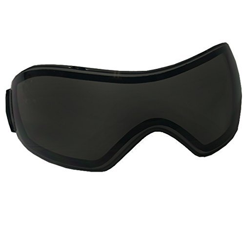 VForce Grill Goggle Lens - Dual Pane Thermal - Ninja Black / Dark Smoke by VForce