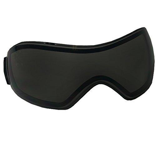 VForce Grill Goggle Lens - Dual Pane Thermal - Ninja Black / Dark Smoke
