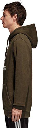cargo noche negro Hombre Camiseta Trefoil adidas 7InxqtXwq