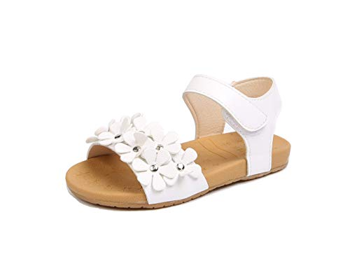 Komfyea Girls Sandal 108 White