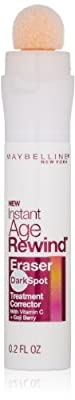 Maybelline New York Instant Age Rewind Eraser Dark Spot Concealer Plus Treatment, 0.2 Fluid Ounce