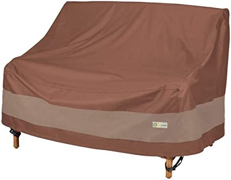 Duck Covers Ultimate Waterproof 54 Inch Patio Loveseat Cover