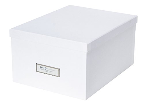 photo storage box white - 5