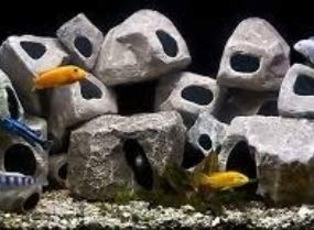 Underwater Galleries AUG6701 15-Pack Cichlid Stone