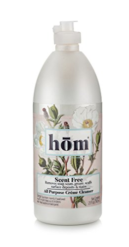 hom Creme Cleanser, All Purpose Cleaner and Degreaser, Pots and Pans Cleaner, 25 oz (Scotch Bottle)