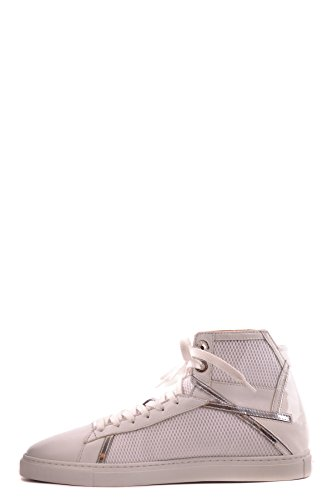 MCBI068018O Paciotti Top Sneakers White Hi Leather Women's Cesare PgwpqUa