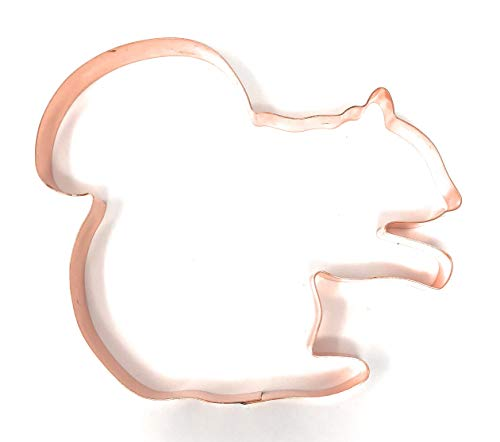 Jumbo Sitting Squirrel Copper Cookie Cutter