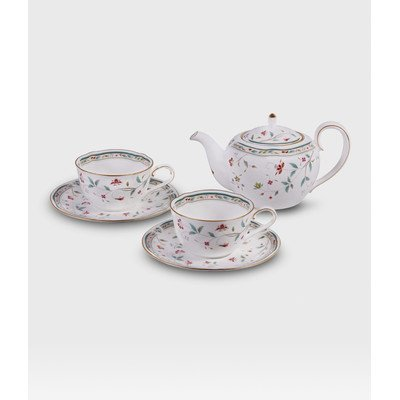 Hana Sarasa Teapot Set (Noritake Tea Set)