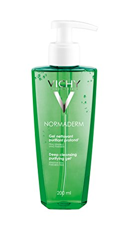 Price comparison product image Vichy Normaderm Daily Deep Cleansing Gel Cleanser with Salicylic Acid for Oily Skin and Acne-Prone Skin, 6.76 Fl. Oz.