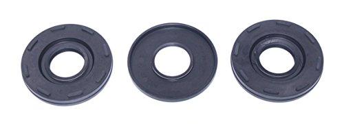 Seal Nib (Kawasaki Outer Crankshaft Oil Seal Kit Model 650/750/800 All years WSM 009-901T OEM# 92049-3705,92049-3706 92049-3713 91-11 S5935)