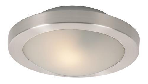 ET2 E53831-09SN, Piccolo LED 1-Light LED Flush/Wall Mount, 1 Light, 5 Total Watts, LED, Satin Nicke