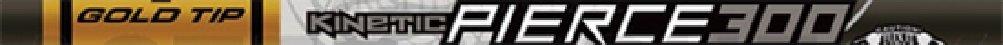 Gold Tip Pierce Platinum Shaft 340 1 Doz., black