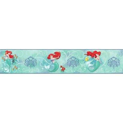 - York Wallcoverings Disney The Little Mermaid DY0345BD Wallpaper Border