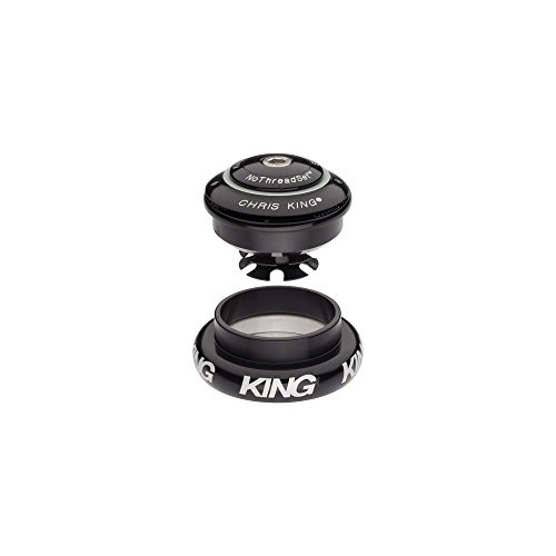 (Chris King Inset 7 Headset Bold Black, Tapered)