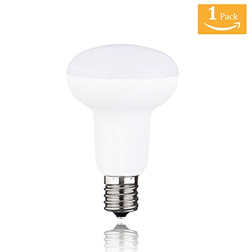 (R16 R14 Warm White 2700K,5 Watt Intermediate Base Bulb,500lm,Dimmable,Indoor Flood Light Bulb for IKEA lamp,Ceiling Fan Light and Cabinet(Pack of 1) )