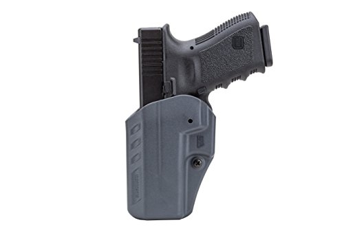 BLACKHAWK! Appendix Reversible Carry Inside The Pants Fits Glock 19/23/32 Ambidextrous Holster, Urban Gray