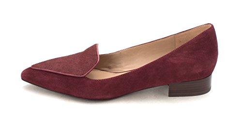 Cole Haan Womens Stinesam Fur Pointed Toe Classic Pumps Purple kbagU