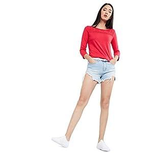 Max Women's Regular Fit Top (CRYSTAL3B_Light Pink XS)