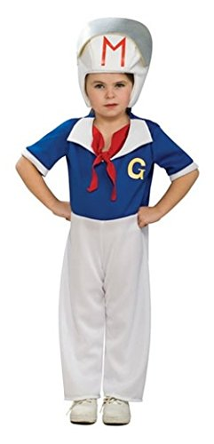[Toddler (Size 2-4T for 1-2 Yrs) - SSpeed Racer Costume] (Halloween Costumes For 4 People)