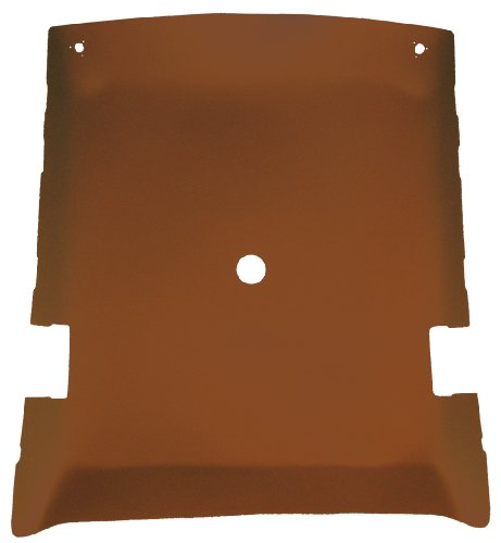 Perforated Headliner - Acme AFH29S-FBPFBH7 ABS Plastic Headliner Covered With Ginger Perforated Foambacked Vinyl