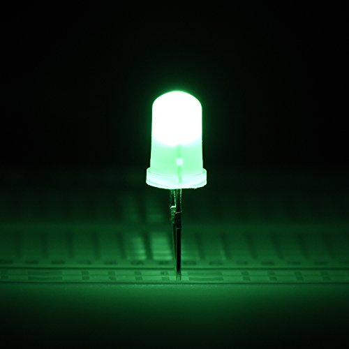 100 Pieces Clear LED Light Emitting Diodes Bulb LED Lamp, 5 mm (Multicolor)