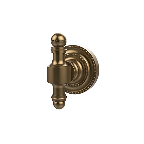 (Allied Brass RD-20-BBR Retro Dot Collection Robe Hook, Brushed Bronze)