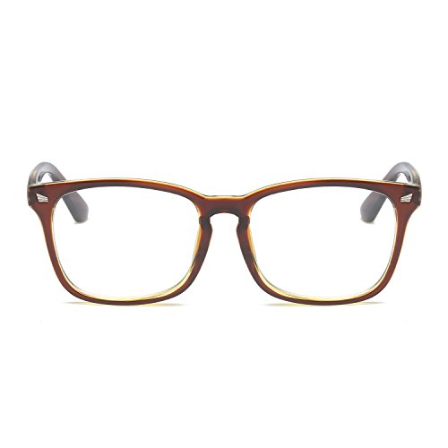 Amomoma Classic Wayfarer Eyeglasses Square Frame Clear Lens Glasses AM5022 - Frames Spectacles With Prices