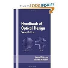 Handbook of Lens Design (Optical Science and Engineering)